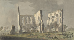 A view of Newark Priory in the county of Surrey, October, 1766
